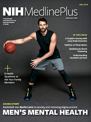 Professional basketball player Kevin Love