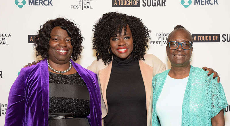 Viola Davis and her sisters