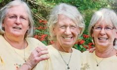 Anne Murphy, left, is pictured with her sisters Jean, middle, and Mary, right.