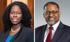 Monica Webb Hooper, Ph.D., y Gary Gibbons, M.D.