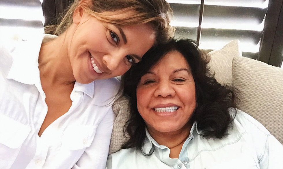 Liz Hernandez, left, pictured with her mother.