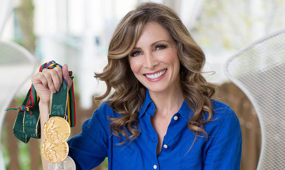 Shannon Miller won seven Olympic medals during her gymnastics career.