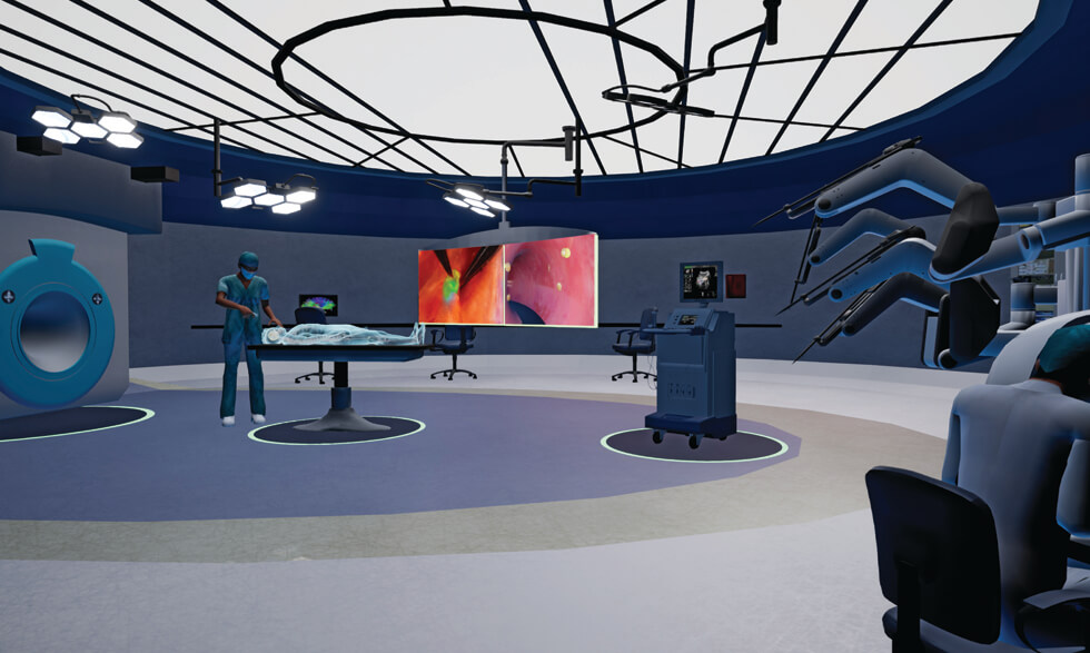 The Surgery of the Future app provides a virtual tour into the operating room of the future.